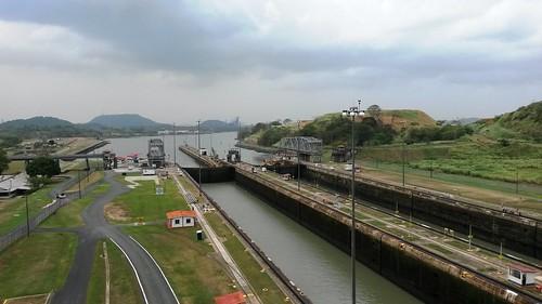Panamakanaln und See
