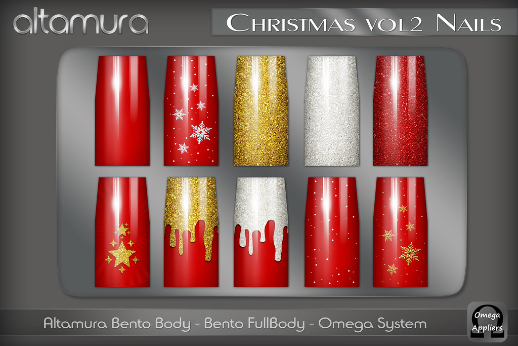 Altamura Christmas Vol2 Nails Appliers Vendor