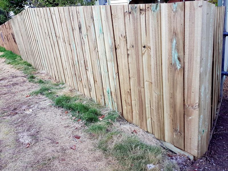 Fencing; Public vs Private construction