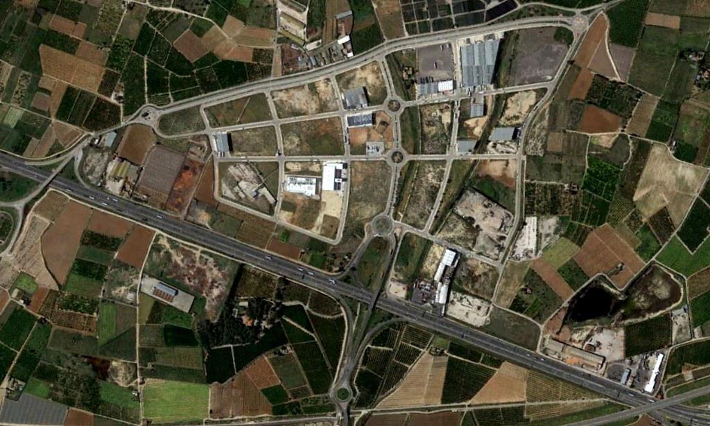 poligon industrial 15, valencia, llevando la cuenta de los políganos, después, urbanismo, planeamiento, urbano, desastre, urbanístico, construcción, rotondas, carretera