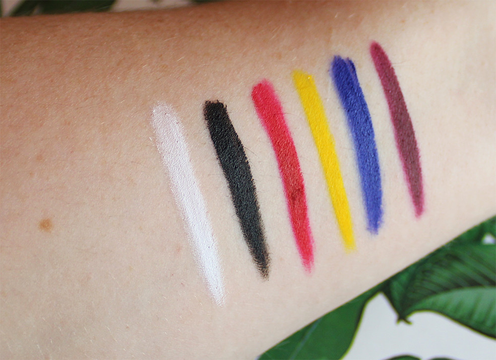 Anastasia Beverly Hills Lip Palette Review lipstick swatches