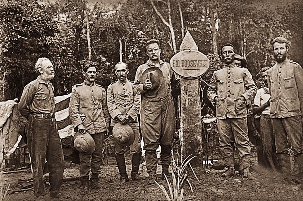Jornalista do EUA escreve biografia do marechal Rondon; livro será lançado em abril, Expedição Roosevelt - Rondon - 1914 - Fonte Museu do Índio
