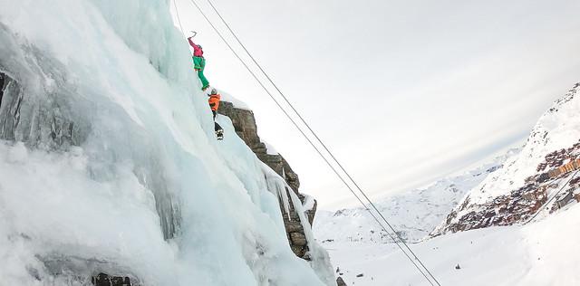 Cascade de Glace Val Thorens