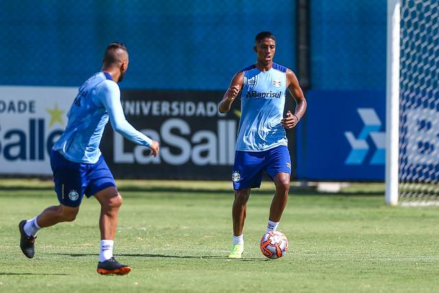 Treino Grêmio 30/01/19