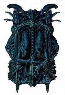 全宇宙最危險生物做成裝飾!Prime 1 Studio 《異形2》3D 藝術裝置 ALIENS WALL ART
