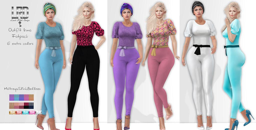 LRD outfit Irma fatpack - TeleportHub.com Live!