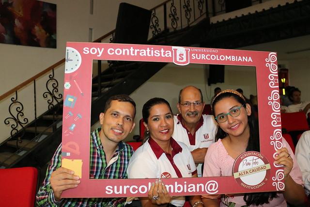 Con éxito se realizó la inducción a personal administrativo de la Universidad Surcolombiana