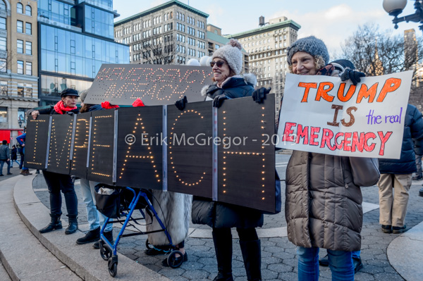NYC Activists Denounce Fake National Emergency