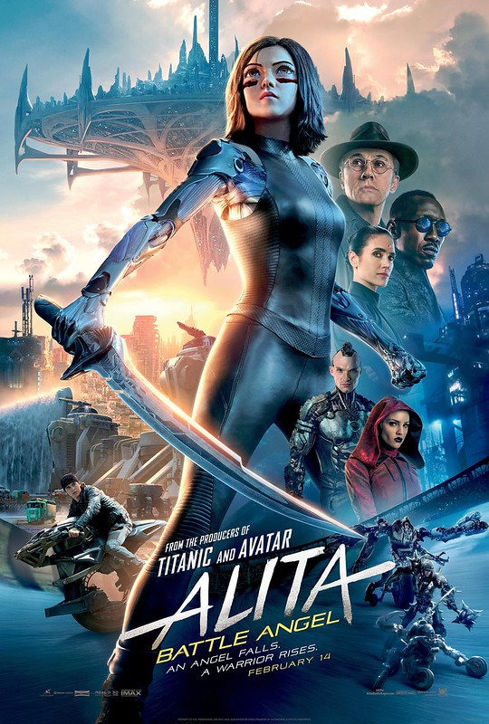 Alita - Battle Angel - Poster 3