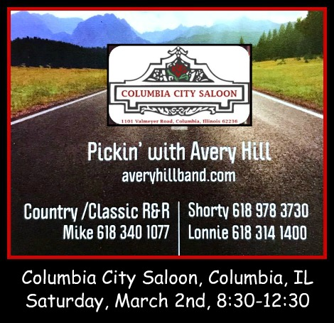 Pickin' with Avery Hill 3-2-19