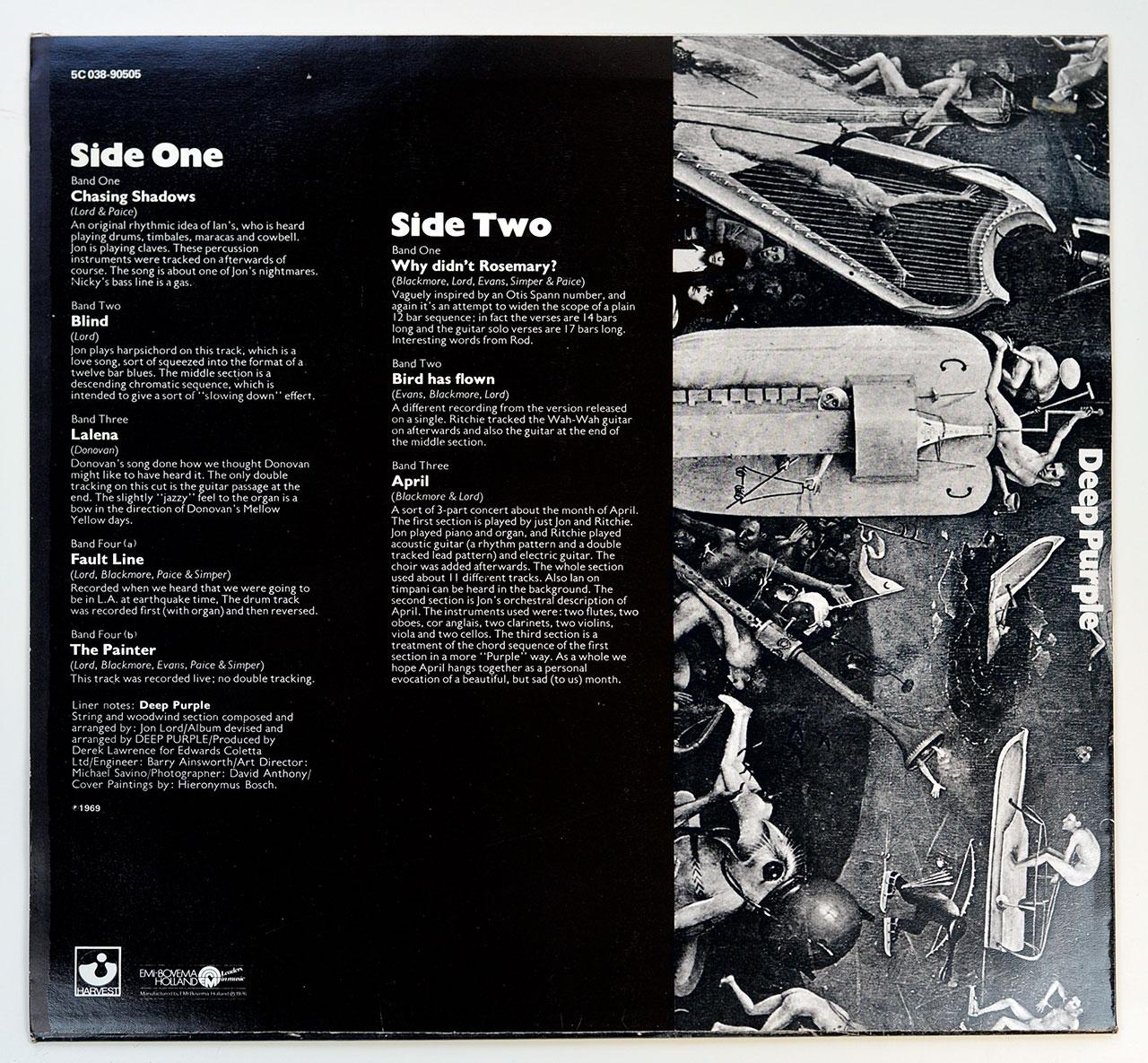 A0695 DEEP PURPLE Deep Purple (Self-Titled)