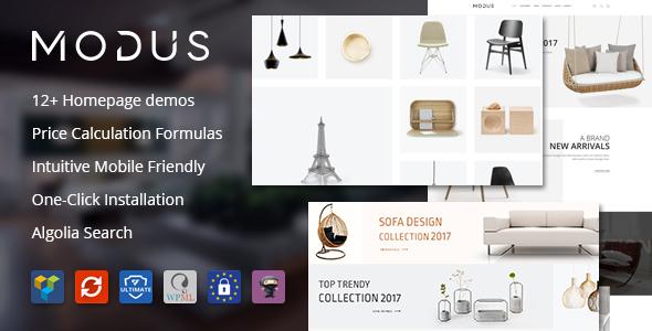Modus v1.4.8 - Modern Furniture WooCommerce Theme