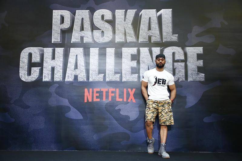 PASKAL star Ammar Alfian at the Netflix #PaskalChallenge event in Sunway Pyramid