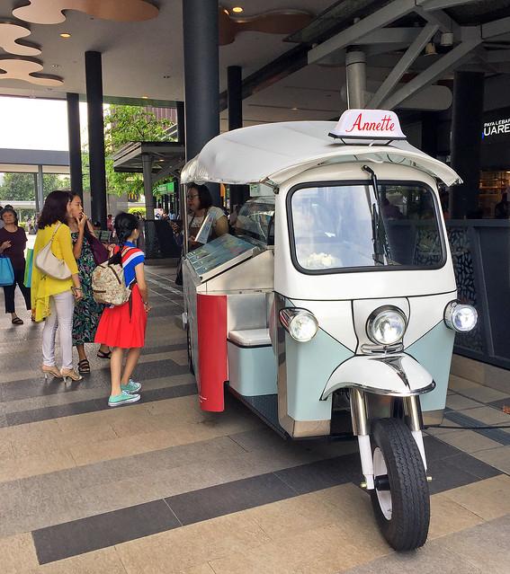 Annette Tuk Tuk in Singapore