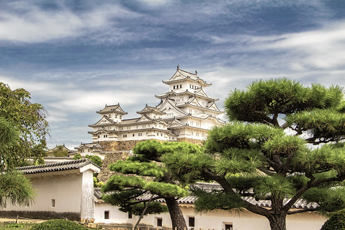 The White Heron, Himeji Castle - Hyōgo Prefecture (Japan)