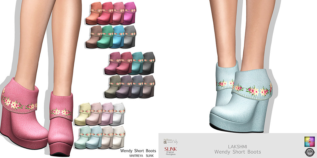 [LAKSHMI]Wendy Short Boots