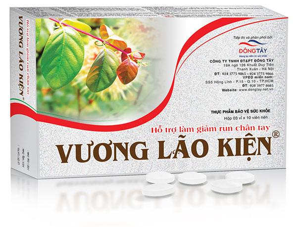Thực phẩm bảo vệ sức khỏe Vương Lão Kiện giúp làm giảm run chân tay