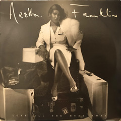 ARETHA FRANKLIN:LOVE ALL THE HURT AWAY(JACKET A)