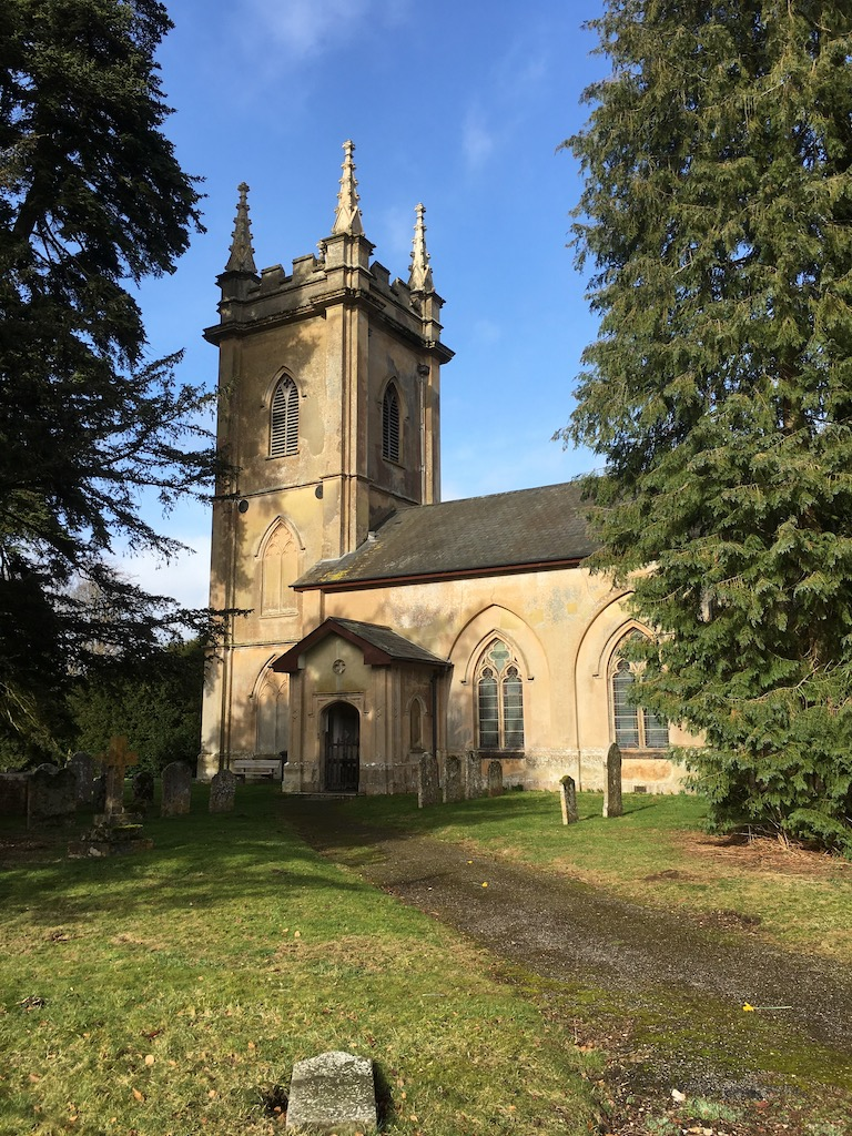 Deane church Overton Circular walk