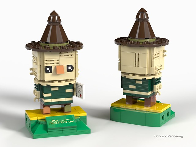 Lego Ideas - Wizard of OZ Modular BrickHeadz