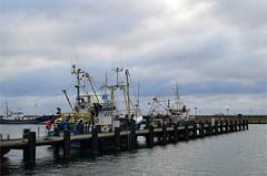 Schiffe im Hafen Sassnitz