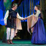Ella Enchanted at the Arvada Center - Prince Charmont (David Miller) and Ella (Lindsay Weidig) Matt Gale Photography 2019