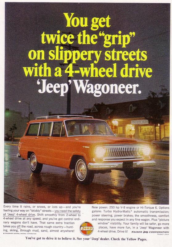 1966 Kaiser Jeep Wagoneer