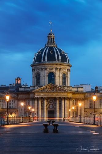 Institut de France & Pont des Arts, Paris