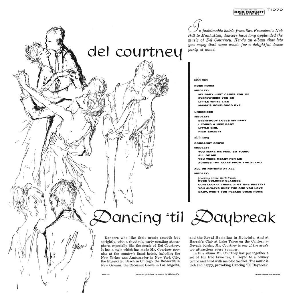 Del Courtney - Dancing til Daybreak