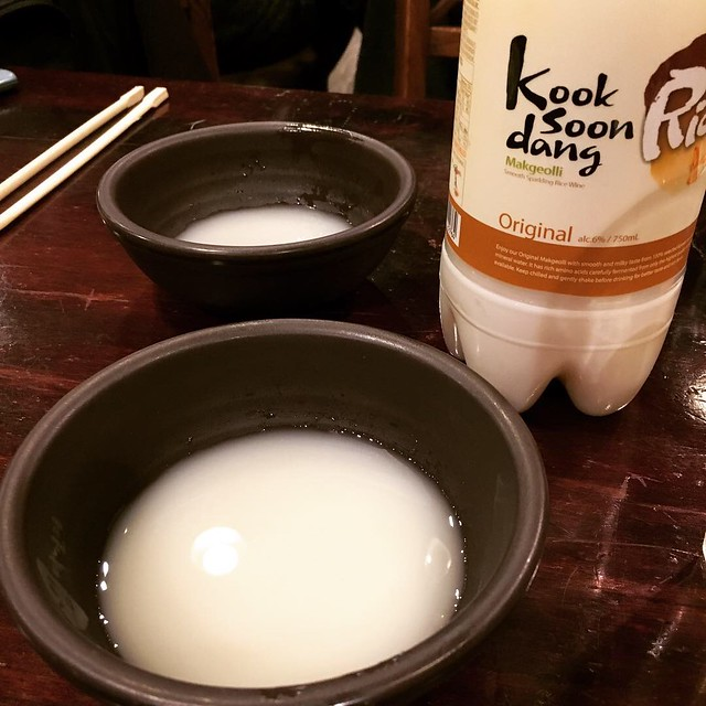 Korean makgeolli in Annandale