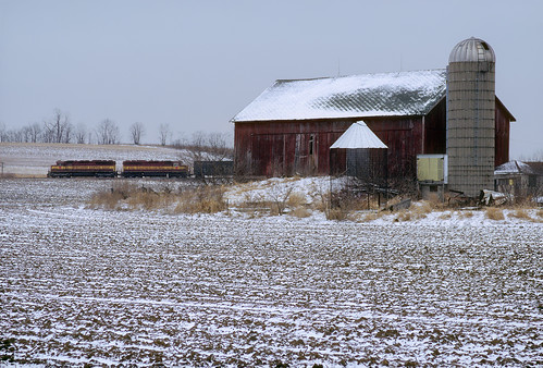Winter in farm country