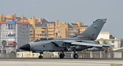 Royal Air Force Panavia Tornado GR4 ZD848/109 at RAF Gibraltar