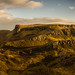 Panoramic view over the Quiraing, Isle of Skye, Scotland