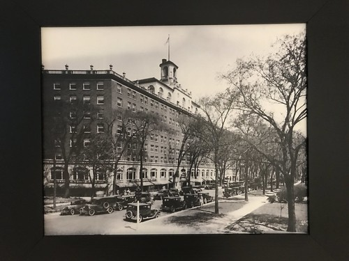 lack and White Image of the Orrington Hotel. From History Comes Alive Touring Chicago's North Shore