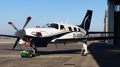 Piper PA-46-500TP Malibu Meridian D-FSFS Private - Photo of Daubensand