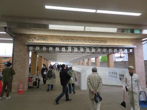 中山競馬場のナッキーモール入口