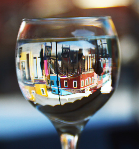 Burano in a glass