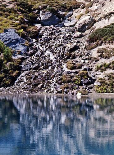 La grande sorgente del Lac Bleu d'Arolla (1976)