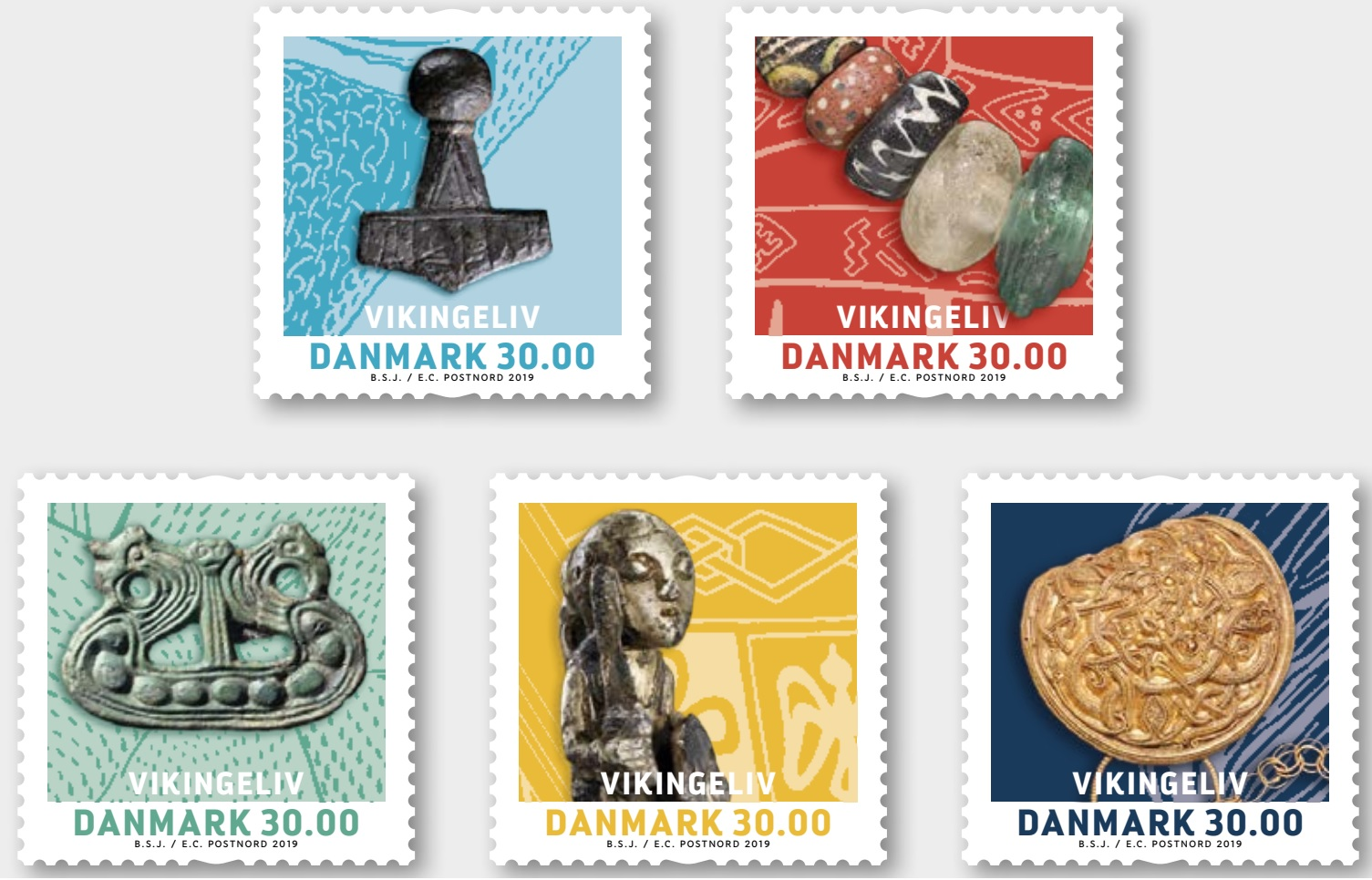 Denmark - Life of Vikings (January 2, 2019) - screenshot from Postnord press release PDF