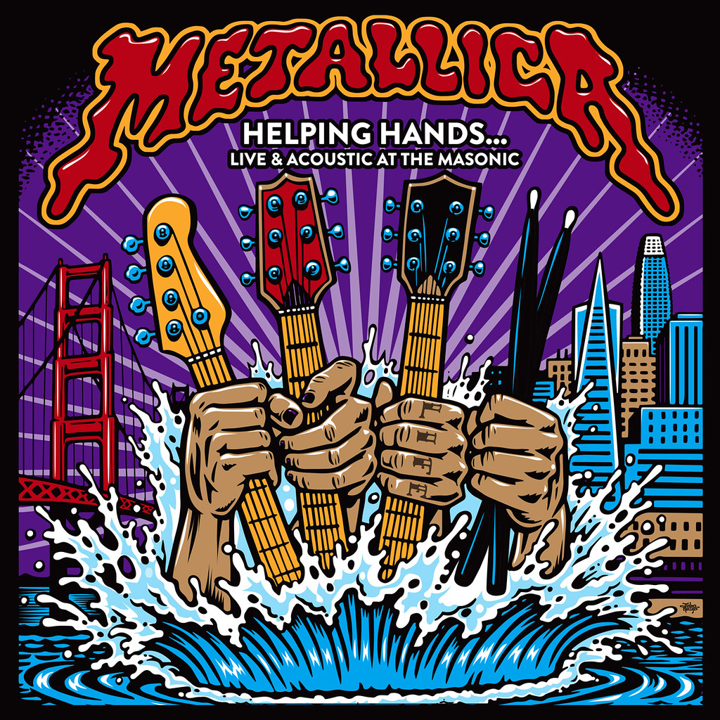 Metallica – Helping Hands… Live & Acoustic at the Masonic