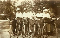 Uitstap met de fiets | Cyclists with bicycles