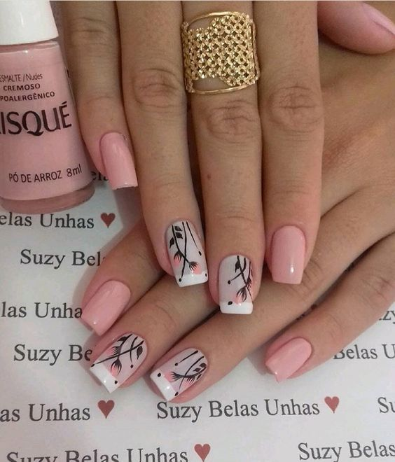 35 Trending Early Spring Nails Art Designs And Colors 2019
