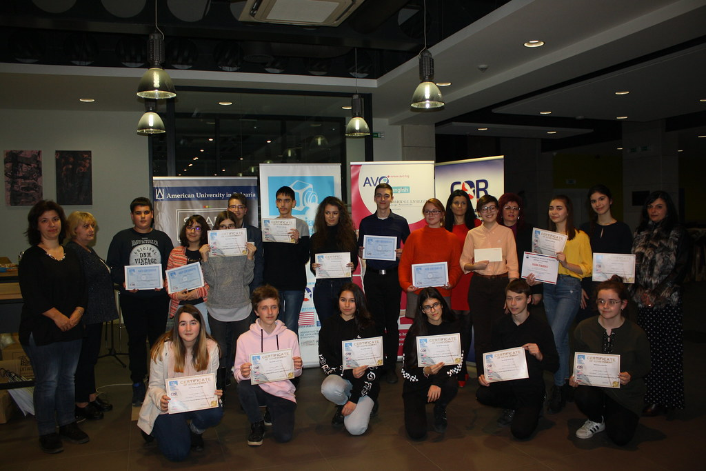 A Ceremony for Awarding the Winners at the National Competition for Creative Writing in English