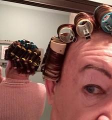 Flickr hair roller fetish are