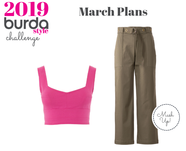 Burda Challenge Feb 2019 March Plans