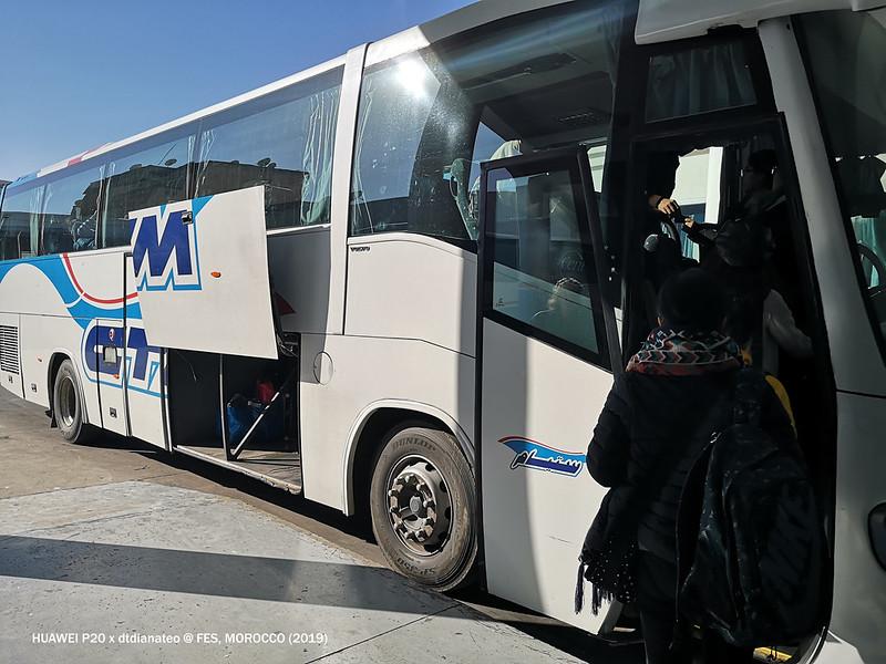Morocco Fes CTM Bus