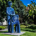 2018 - Mexico - Puebla - El Hombre Azul por Ted's photos - For Me & You