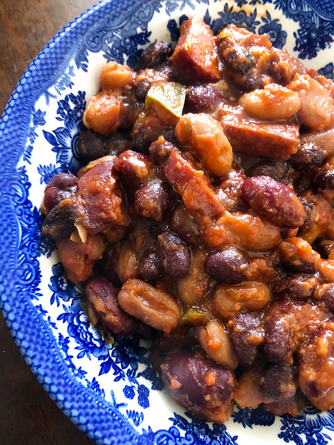 Jamie's Weiners & Beaners for Grown-Ups Made In Instant Pot