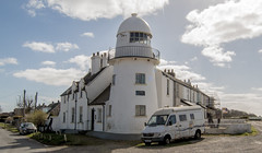Paull Lighthouse and Van