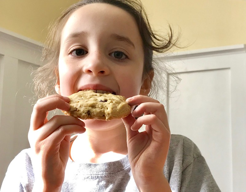 oatmeal olive oil cookie